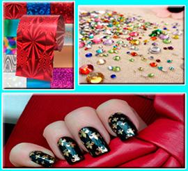 Элементы дизайна ногтей