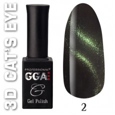 "GGA prof Gel Polish ""3D Cats Eye"" 02"