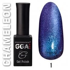 """GGA prof Gel Polish """"Chameleon"""" 01"""