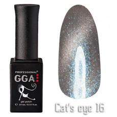 """GGA prof Gel Polish """"Cats Eye"""" №16"""
