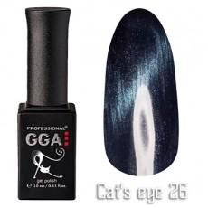 """GGA prof Gel Polish """"Cats Eye"""" №26"""