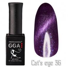 """GGA prof Gel Polish """"Cats Eye"""" №36"""