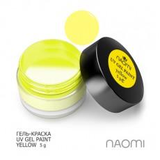 Naomi UV Gel Paint Yellow 5g