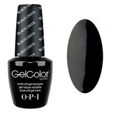 GelColor by O•P•I Black Onyx