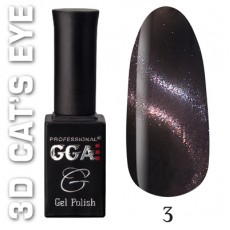 "GGA prof Gel Polish ""3D Cats Eye"" 03"
