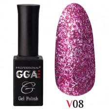 """GGA prof Gel Polish """"Vegas"""" V08"""