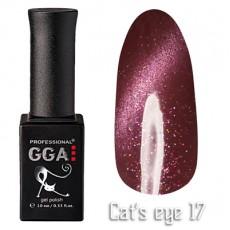 """GGA prof Gel Polish """"Cats Eye"""" №17"""