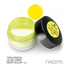 Naomi UV Gel Paint Neon Yellow 5g