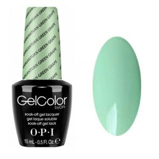 GelColor by O•P•I Gargantuan Green Grape