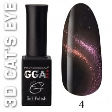 "GGA prof Gel Polish ""3D Cats Eye"" 04"