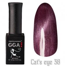 """GGA prof Gel Polish """"Cats Eye"""" №38"""