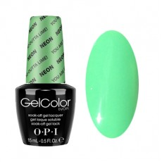 GelColor by O•P•I You are So Outta Lime!…NEON Original