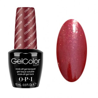 GelColor by O•P•I Color To Diner For