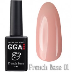 GGA Professional Base French №01 15 ml