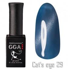 """GGA prof Gel Polish """"Cats Eye"""" №29"""
