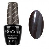 GelColor by O•P•I LOVE Is Hot & COAL