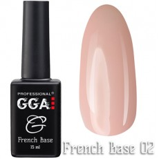 GGA Professional Base French №02 15 ml