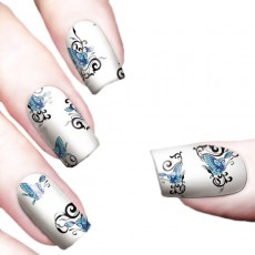 "Водные наклейки ""Color Butterflies"" /8358"