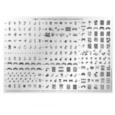 Большая печатная форма Konad № 2