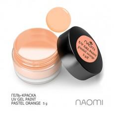Naomi UV Gel Paint Pastel Orange 5g