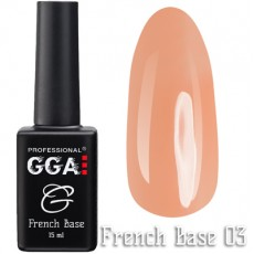 GGA Professional Base French №03 15 ml