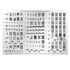 Большая печатная форма Konad № 3