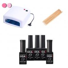 Набор гель-лаков GGA Professional 10ml