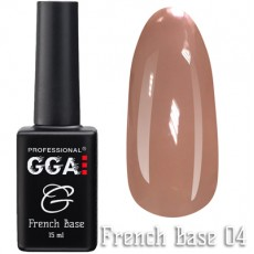 GGA Professional Base French №04 15 ml