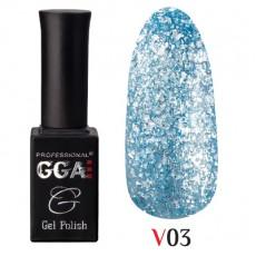 """GGA prof Gel Polish """"Vegas"""" V03"""