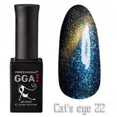 """GGA prof Gel Polish """"Cats Eye"""" №22"""