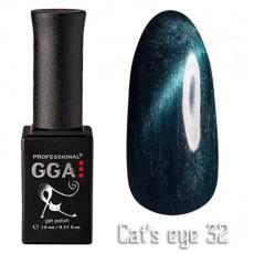 """GGA prof Gel Polish """"Cats Eye"""" №32"""