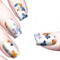 "Водные наклейки ""Color Butterflies"" /8339"