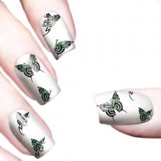 "Водные наклейки ""Color Butterflies"" /8351"