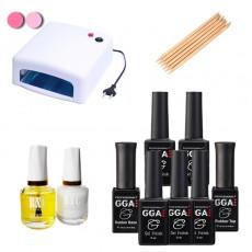Набор гель-лаков GGA Professional (set 5) 10ml