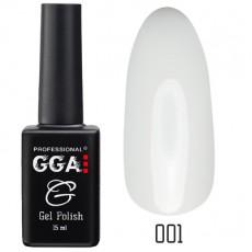 GGA prof Gel Polish №001 Classic White