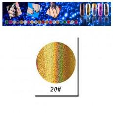 Фольга для дизайна ногтей F20