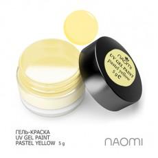 Naomi UV Gel Paint Pastel Yellow 5g