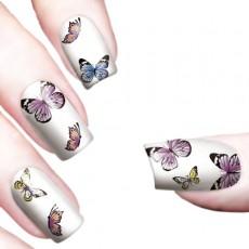 "Водные наклейки ""Color Butterflies"" /8337"