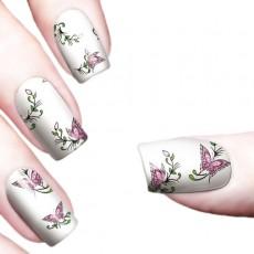 "Водные наклейки ""Color Butterflies"" /8357"