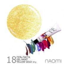 Naomi Гель-паста Yellow Gold 18