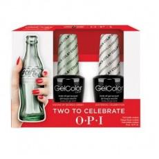 GelColor by O•P•I Coca Cola Duo Set Original